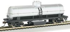 Bachmann HO Scale Track Cleaning Car Unlettered Silver Train Car BAC16304
