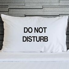 Pillow Case Do Not Disturb Funny Teenagers Bedroom Bedding Novelty WSD733