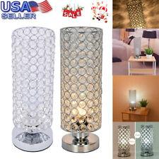 Crystal Table Lamp Bedside Nightstand Desk Reading Lamp Bedroom Living Room Gift