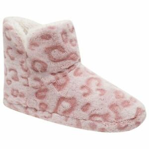 Ladies Soft Warm Comfy Fleece Lined Bootie Boot House Slippers UK Size 3-8
