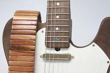 Tigerwood Guitar Strap Solano Style   Custom   Premium   Acoustic  Electric Bass