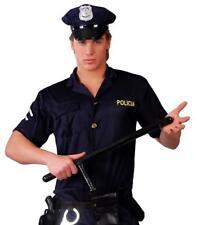 Lote 5 porras policia para disfraz