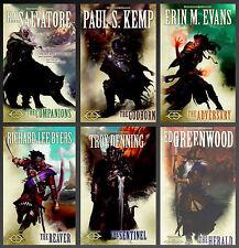 Forgotten Realms The SUNDERING Series RA SALVATORE Mass Market Paperbacks 1-6!