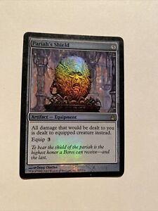 Pariah's Shield (Foil) *Moderate Play MP* (English Magic the Gathering MTG)