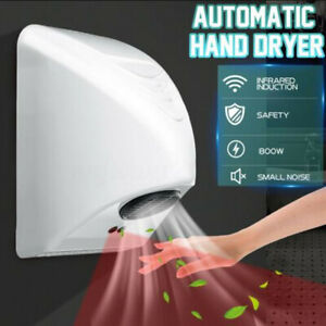 Automatic Electric Hand Dryer Drying Machine Wall-mounted Hotel Bathroom 220V
