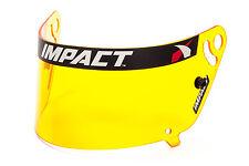IMPACT RACE HELMET SHIELD VISOR AMBER 1320/AIR DRAFT/ SUPERSPORT/SS AI #19399904
