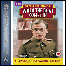 WHEN THE BOAT COMES IN - COMPLETE SERIES COLLECTION *BRAND NEW DVD BOXSET**