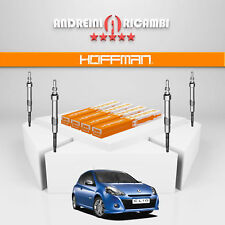 KIT 4 CANDELETTE RENAULT CLIO III 1.5 DCI 63KW 86CV 2012 -> GN018