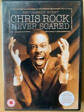 Chris Rock Never Scared DVD Classic Live Stand Up Comedy Concert Show Routine