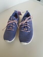 Girls S Sport By Skechers Athletic Shoes - Purple Sparkle - Size 1 - NWT