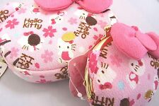 Sanrio Hello Kitty Sakura Chirimen Cosmetic Pouch & Coin purse PINK Japanese