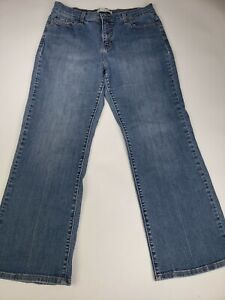 Levi's Womens 512 Denim Jeans Sz 16P Medium Perfectly Slimming Boot High Rise