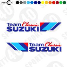 Suzuki Team Classic - Vinyl Decal / Sticker (NOT PRINTED) 2908-0119