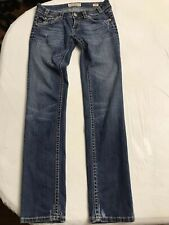 MEK Denim USA Distressed Skinny Slim Men's Jeans Size 28X34 Cotton Blend (EUC)
