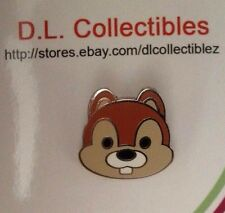 Disney Chip & Dale Cute Characters Face Version #2 - Mini Chip Pin