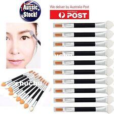 10Pcs Makeup Brushes Double-end Eye Shadow Eyeliner Brush Sponge Applicator