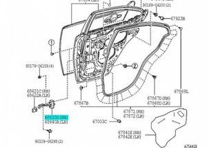 TOYOTA 68630-53031 Rear Door Check ASSY RH Genuine Parts LEXUS IS350 250 F