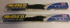 Set of 2 ANCO Winter Blades Windshield Wiper Blade-Winter Blade Anco 30-16