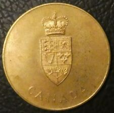 Commemorative Canada 1867 1967 Confederation Centennial token