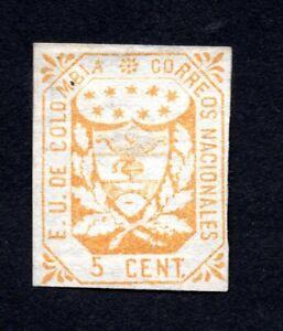 Colombia 1864 stamp Mi#22b MNG CV=70€