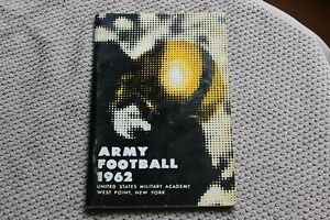 1962 Army (West Point) college football media guide