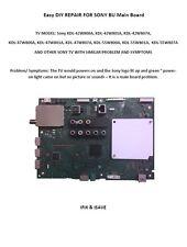 hDIY fix SONY Main Board KDL-47W807A, KDL-55W800A, KDL-55W801A, KDL-55W807A