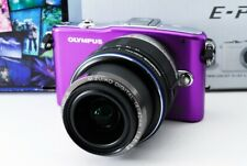 Olympus PEN E-PM1 12.3MP 14-42mm Lens Set [Exc+++] w/8GB SD Card,Strap [60]