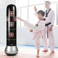 Inflatable Training Boxing Column Tumbler Standing Punching Bag For Adult Kids