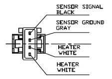 Oxygen Sensor MINI : CITROEN : PEUGEOT : LEMARK LLB594
