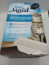 New listing 12 Pack LitterMaid Waste Receptacles Automatic Litter Boxes For 3rd Edition Nib