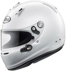 Arai GP-6 PED (Mit M6 Nieten) Fia 8859-2010 & Snell Sa 2015 Autorennen Helm