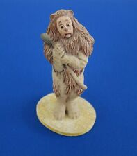 Franklin Mint Wizard Of Oz Cowardly Lion Figurine *Loews - Mgm*1988*Nice*