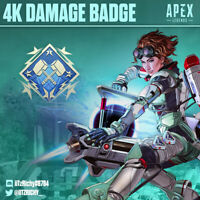 4K Damage Badge | Apex Legends Season 7 | Any Legend | PS4/PC