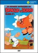 LE GRANDI AVVENTURE DI BRACCIO DI FERRO 02  DVD