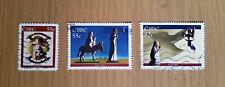 Complete Ireland / Eire used stamp set: 2008 Christmas