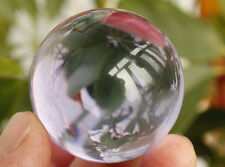 VERY CLEAR QUARTZ CRYSTAL SPHERE BALL Healing SMALL 40MM BALL Near perfect