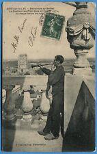 CPA: AIRE sur la LYS - Beffroi - Le Guetteur soufflant dans un Cornet / 1908