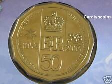 50c PNC 2003 50th Anniversary Golden Jubilee Coronation Australian 50 Cent Coin