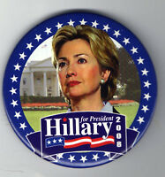 HILLARY Clinton 2008 Photo pin #5 Campaign President pinback