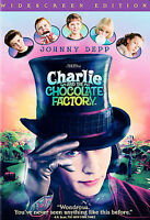Charlie and the Chocolate Factory (DVD, 2005) Johnny Depp Widescreen
