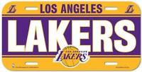 Los Angeles Lakers License Plate Lightweight Plastic NBA Licensed New LA Lakers