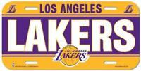 Los Angeles Lakers License Plate Lightweight Plastic NBA Licensed New LA Lakers