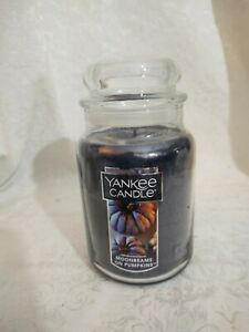 Yankee Candle Moonbeams on Pumpkins 22 oz. Large Jar Candle - NEW