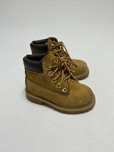 TIMBERLAND CLASSIC 6 INCH PREMIUM WHEAT BABY Size 7 M TODDLER LEATHER 12809