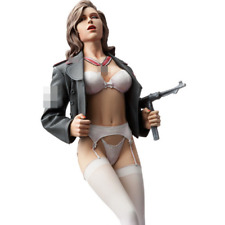 "1/9 Female Figure ""Dressed for battle"" Resin Model Unfinished, LTD STOCK"