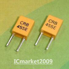 100 PCS CRB455E 455E 455KHz 455K 455 KHZ DIP-2 CERAMIC FILTER