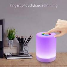 Smart Bedside Table Lamp LED Night Light Dimmable Touch Control Rechargeable New