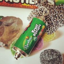 Cool FRUIT PASTILLES NECKLACE sweets MINIATURE FOOD jewellery HANDMADE retro