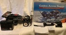 Radio Shack Golden Arrow Buggy Vintage RC w/ Box. New Battery & Charger. Tested