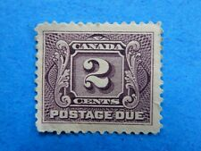 #J2 MH  2c violet, well-centred First Postage Due Series (1906)   CV = $20.00